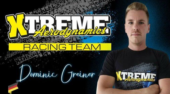 Dominic Greiner im Xtreme Aerodynamics Rennteam