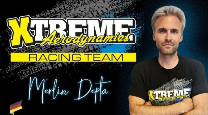 Merlin Depta im Xtreme Aerodynamics Racing Team
