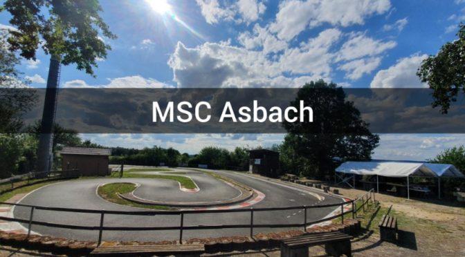 Die Onroad-Rennstrecke des MSC Asbach bei Obrigheim