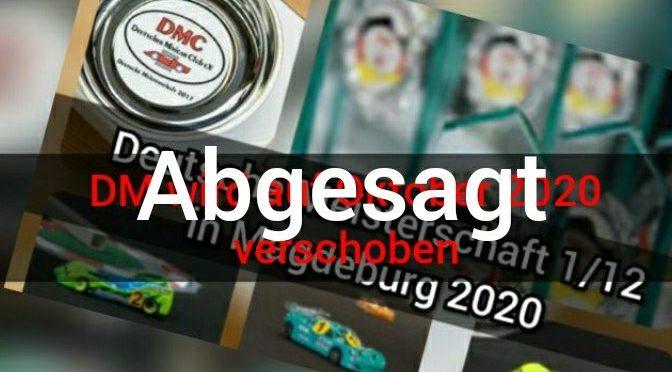 Schlechte Nachrichten – DM 1/12 – 2021 beim AMC Magdeburg abgesagt