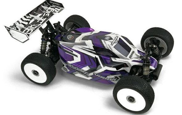 1/8 Buggy VISION Karosserie für den Hot Bodies E819RS by Bittydesign Co.