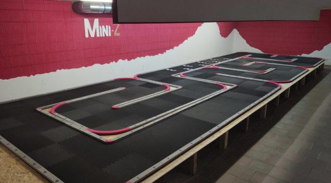 Neue Strecke für Mini-Z beim RCCR-Munzig