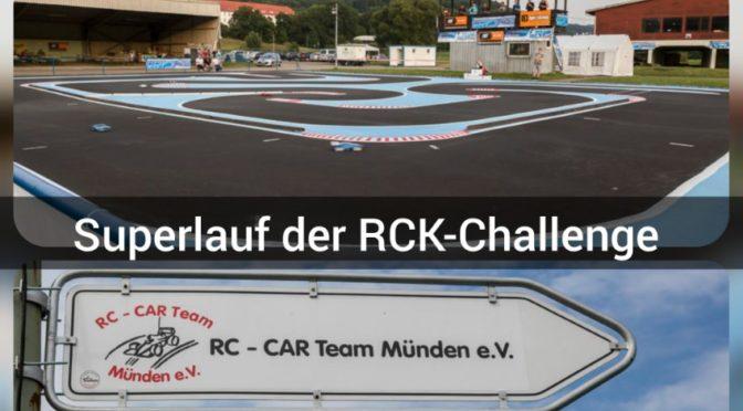 RCK-Challenge Superlauf beim RCCT-Münden