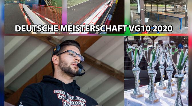 Infos zur Deutschen Meisterschaft VG10 2020 – Klappt die Titelverteidigung VG10 für Toni Gruber!