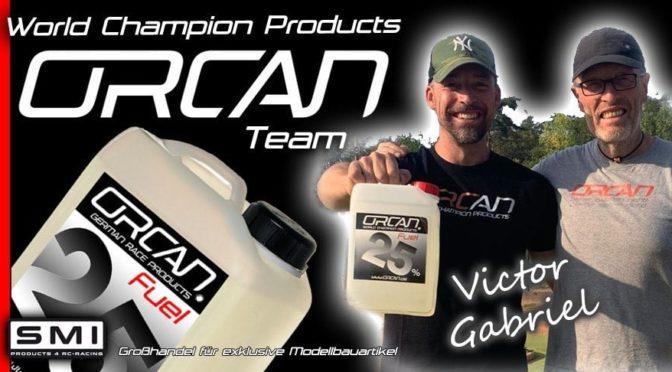 Victor Gabriel setzt auf ORCAN Racing Produkte
