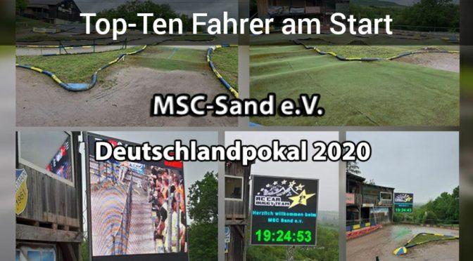 Starke Konkurrenz zum Deutschlandpokal OR8 2020 beim MSC-Sand