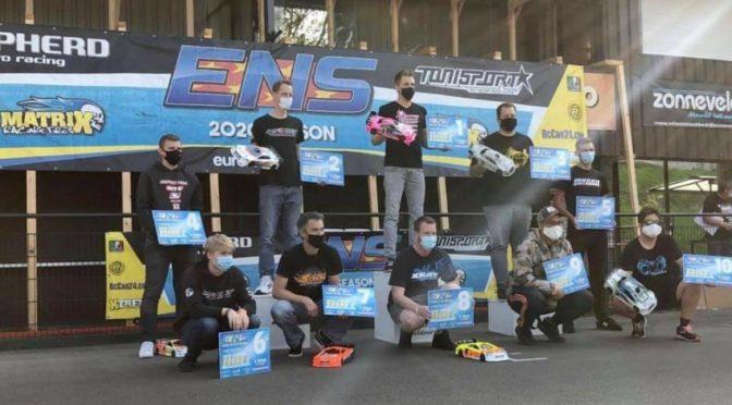 Dominic Greiner gewinnt beim ENS in Apeldoorn