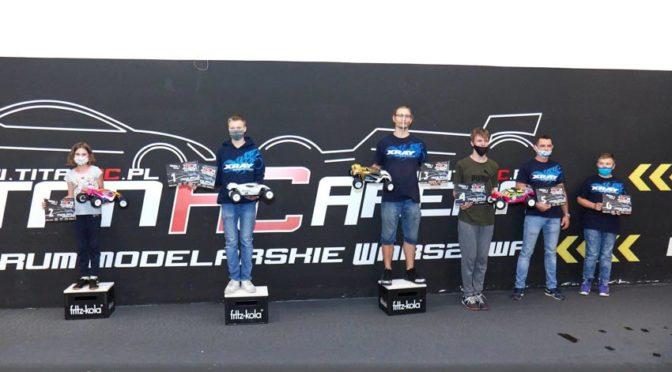 Kramza mit dem Triple beim dritten Rennen der TRCA Offroad Serie in Polen