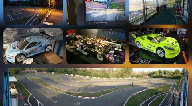Trockene Strecke zum Trainingsauftakt des Deutschlandpokal des GT8 Masters 2020