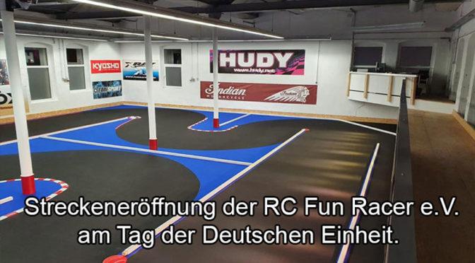 Eröffnung der Modellsport Arena des RC Fun Racer e.V.
