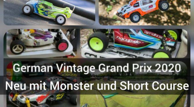 Monster und Short Course beim GERMAN VINTAGE GRAND PRIX 2020 beim MC DORTMUND mit dabei