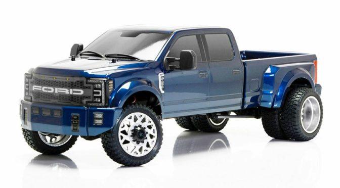 CEN Ford F450 SD Blau 4WD 1/10 RTR
