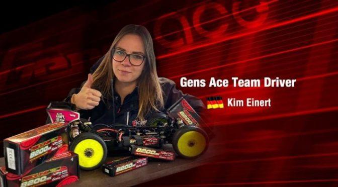 Kim Einert im Gens Ace-Team