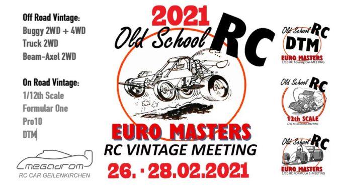 Old School RC Euro Masters 2021 in Geilenkirchen