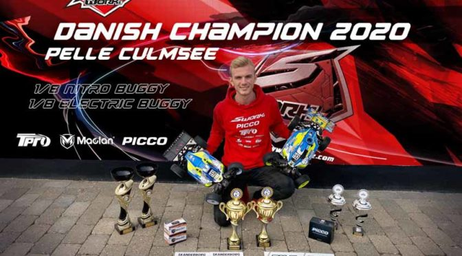 Pelle Culmsee gewinnt die Dänische Meisterschaften Offroad 1/8