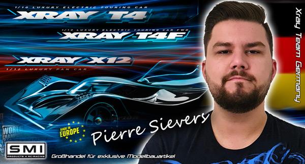 Pierre Sievers im Team XRAY Germany