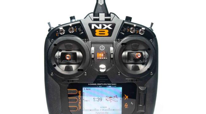 Spektrum™ NX8 8-Channel DSMX®