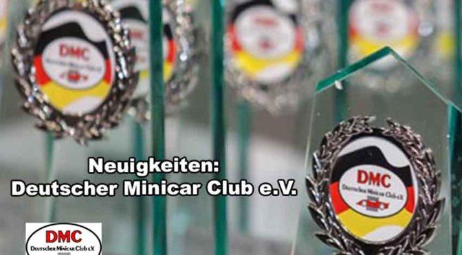 Neuwahlen – Positionen im Präsidium im Deutschen Minicar Club e.V. zu vergeben