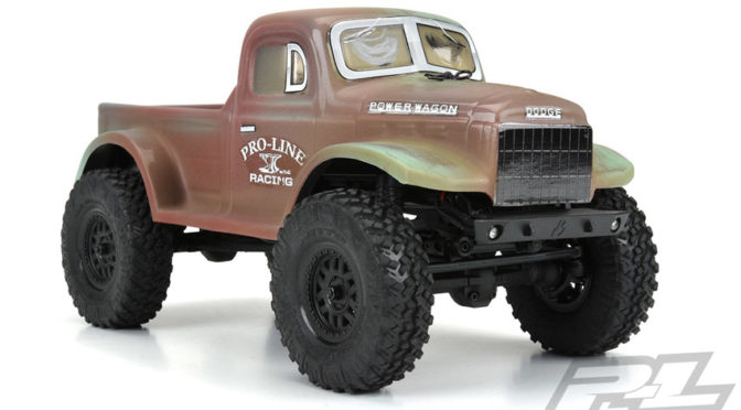 1946 Dodge Power Wagon Karosserie (SCX24)