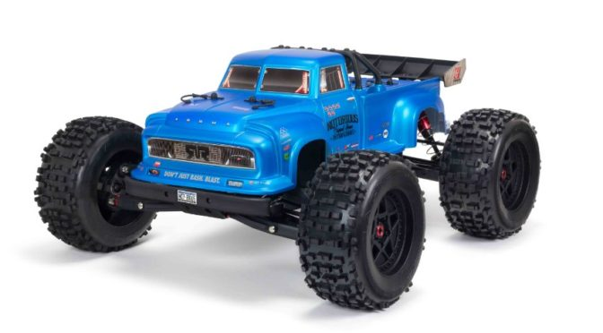 ARRMA® NOTORIOUS™ 6S BLX 1/8 Stunt Truck 4WD RTR V5