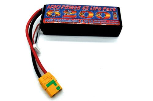 LiPo 4S – 14.8V 6200mAh 60C Akku von HRC