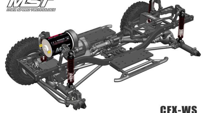 CFX-WS Chassis von MST
