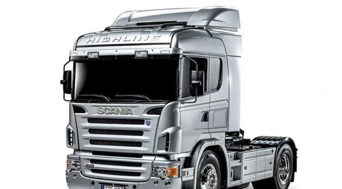 1:14 RC Scania R470 Silber Edition von Tamiya