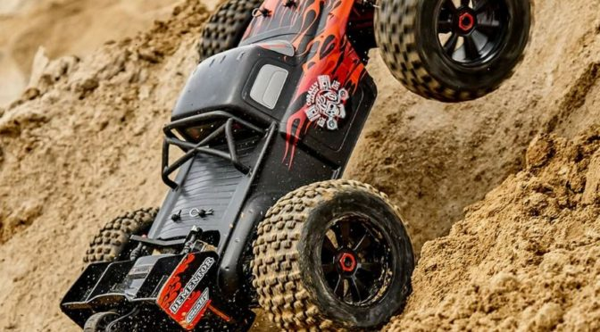 Neu – Team Corally's Dementor XP 6S 2021 Stunt Truck