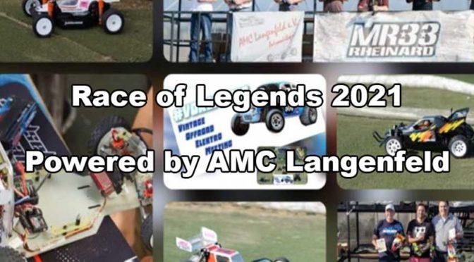 Save the date – Race of Legends 2021 beim AMC-Langenfeld