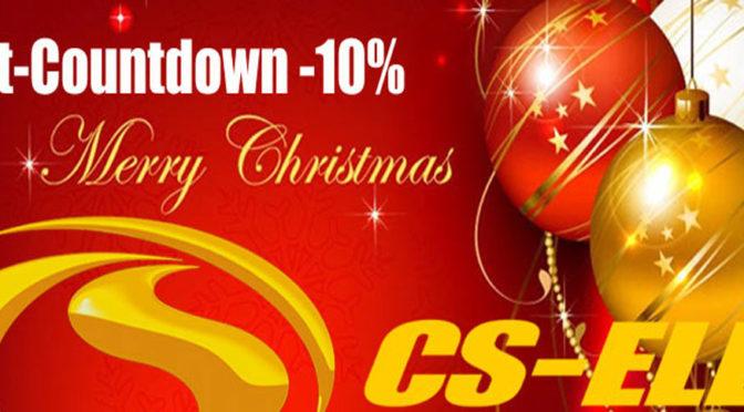 CS-Electronic startet heute mit dem Weihnachtscountdown