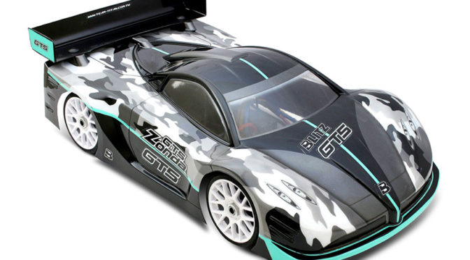 BLITZ GT5 ZONDA 1/8th GT Karosserie – Coming soon