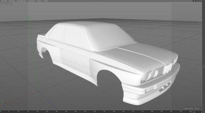 BMW M3 DTM e30 für TW 1/5