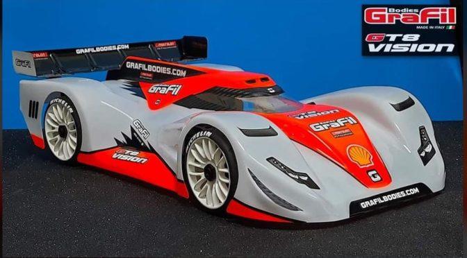GT8 Vision Karosserie von Grafilbodies