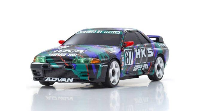MINI-Z AWD HKS SKYLINE GT-R