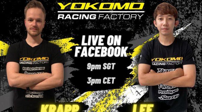 Livestream mit Christopher und Nicholas vom Team Yokomo