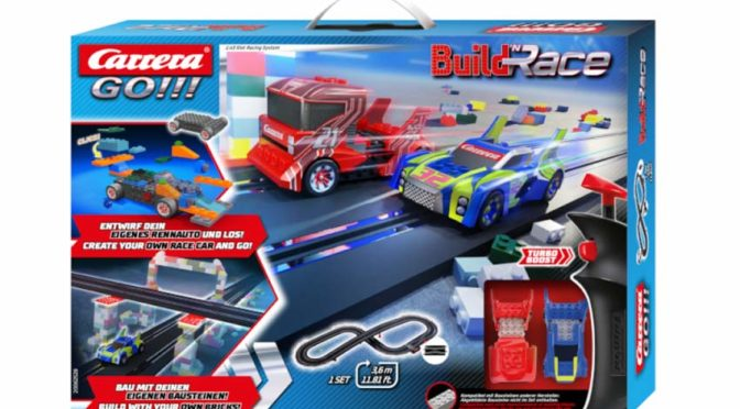Buildn Race Carrera GO!!! – Spielwarenmesse 2021
