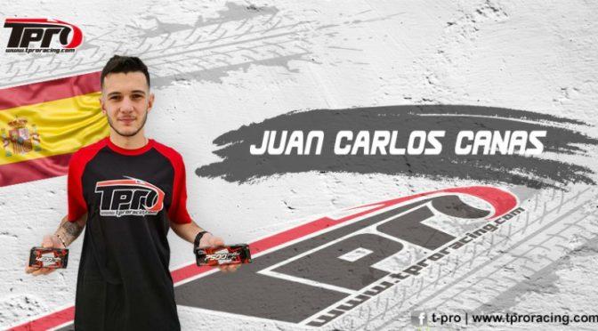 Juan Carlos CANAS setzt auf TPRO Akkus