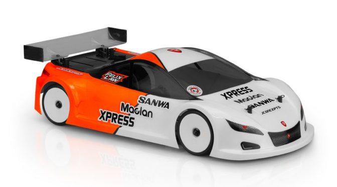 "JConcepts präsentiert die A2R – ""A-One Racer 2"" – 190mm TW Karosserie"