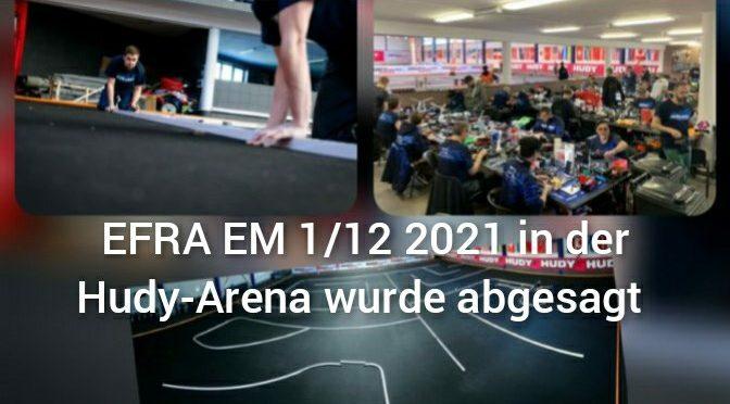 EFRA EM 1/12 2021 wurde abgesagt – Neuer Termin möglich