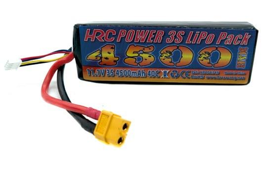 HRC LiPo 3S Akku – 4500mAh
