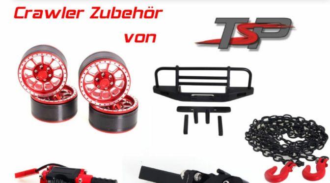 Neu – Crawler und Scaler Zubehörteile von TSP-Racing