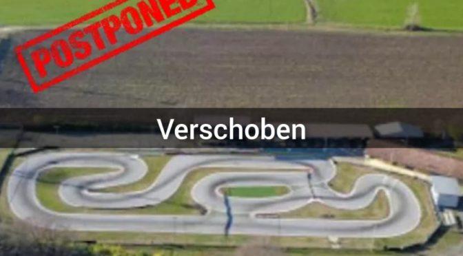EFRA GP Series 1/8 und 1/8 IC Track in Leno, Italien wird verschoben
