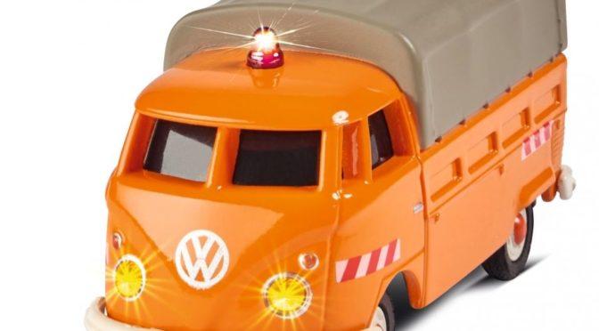 Kleiner Transporter – VWT1 Bus Pritsche Kommunal 100% RTR