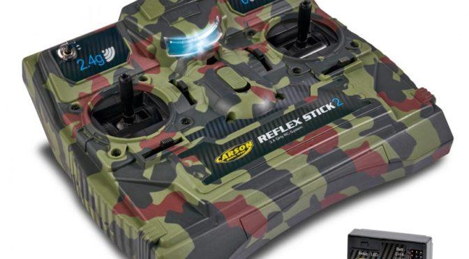 Neuer Look – FS Reflex Stick II 2.4GHz 6CH Camouflage