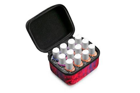 Hudy – stylische Stoffbox für Ölflaschen