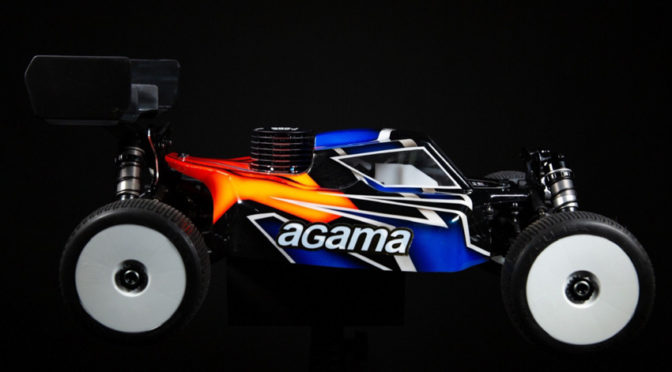 AGAMA A319P PERFORMANCE NITRO COMPETITION BUGGY KIT