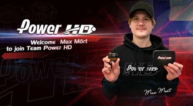 Max Mört neu im Power HD Werksteam