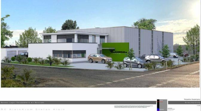 Umzug – RC-KleinKram plant neuen Gebäudekomplex