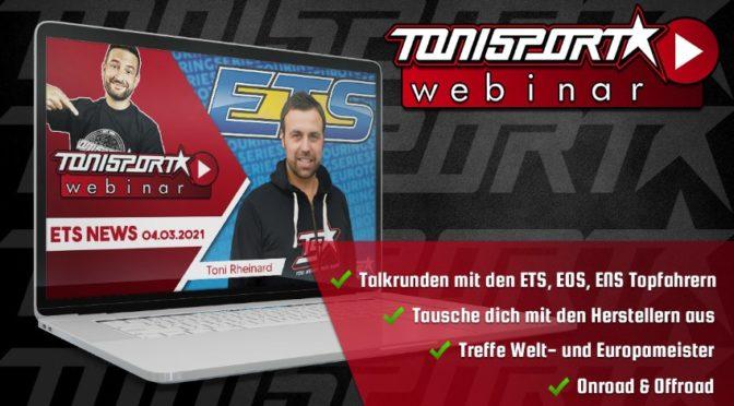 Webinar-Reihe von Tonisport mit Patrick Beck