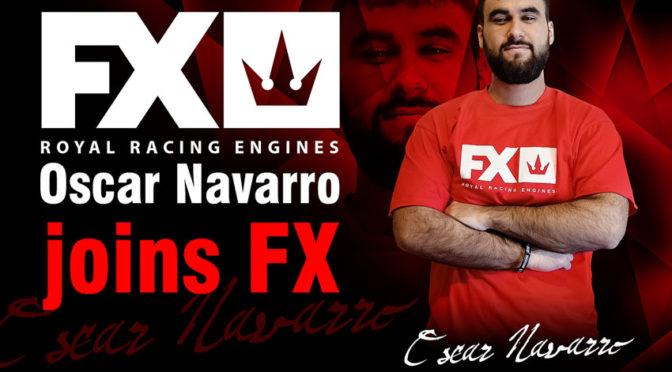 Oscar Navarro wechselt ins FX Engines Racing Team